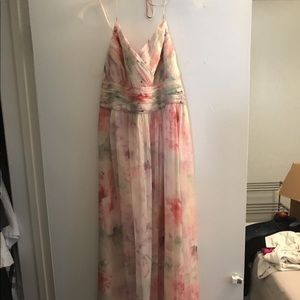 Floral formal dress/ party dress
